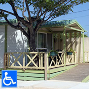Chalet Access disabled friendly 3 persons AIR COND 29 sqm